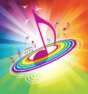 Nghiên cứu mới phát hiện, mọi người thường liên tưởng âm nhạc vui vẻ, nhịp  điệu nhanh với những màu vàng sáng, sặc sỡ; trong khi đó âm nhạc buồn, ...